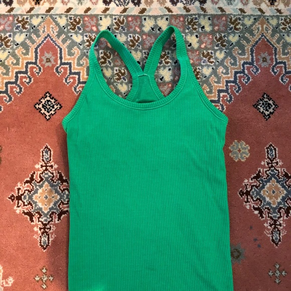 lululemon athletica Tops - Lululemon Tank Top Kelly Green